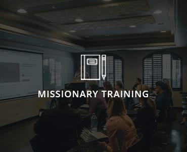 Missionary Training