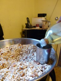 Add 1 cup safflower oil