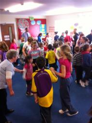 Teaching the Walls of Limerick today in Ballyellis NS (3)