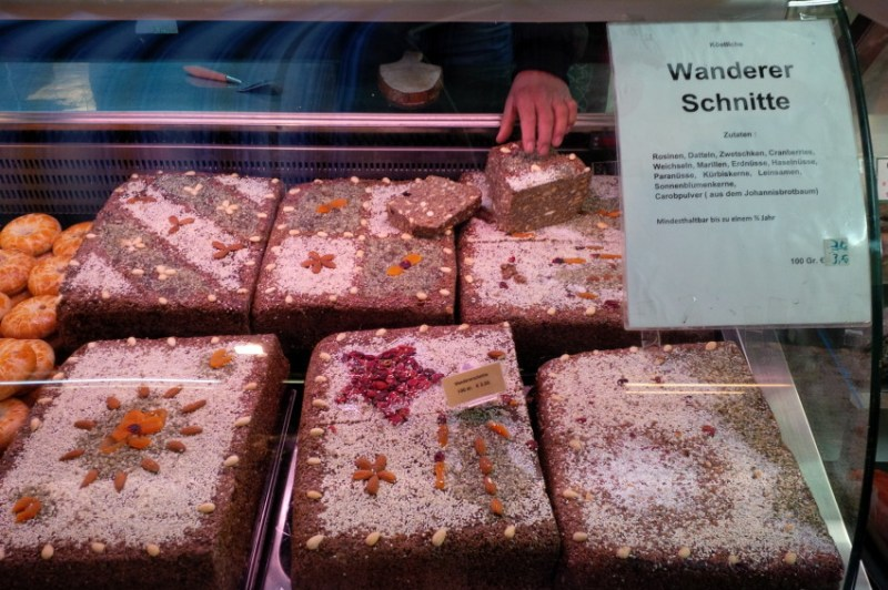 Wandererschnitte at the Naschmarkt in Vienna
