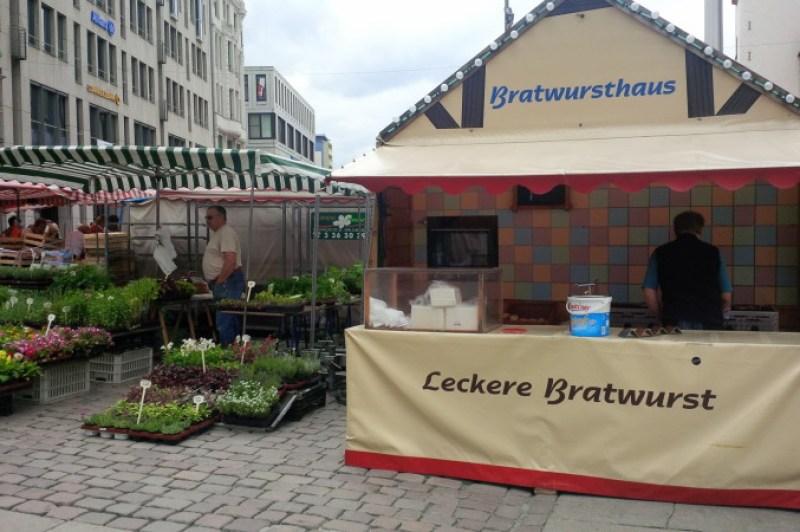 A must: Bratwurst