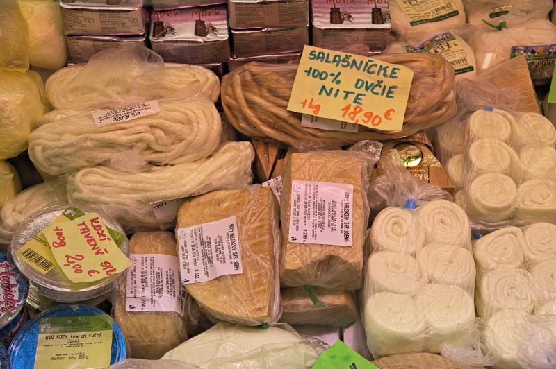 Sheep cheeses