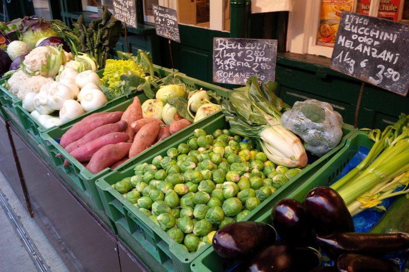 Vegetables across the globe