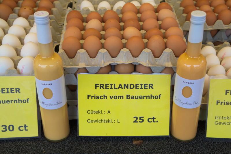 Eggs & vodka-egg-liquor