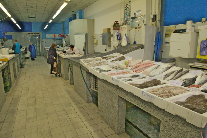 Fish market hall