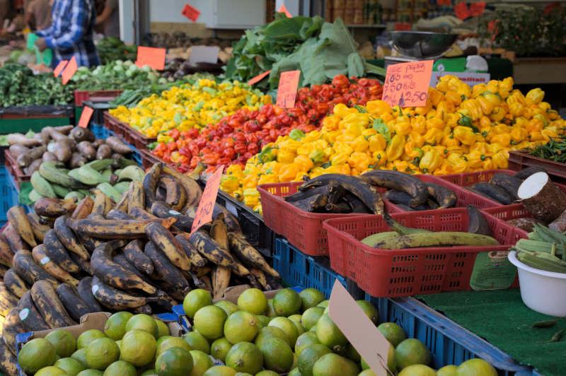 Travel the world via fruits & veggies