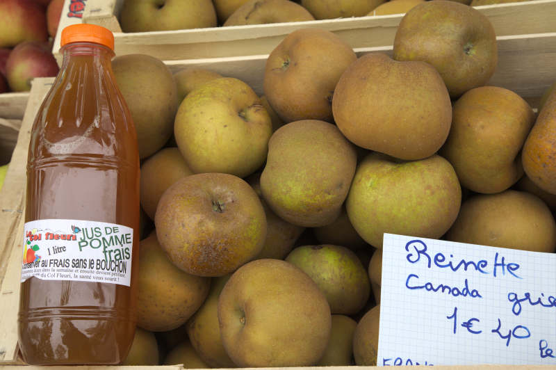 Fresh apple juice - unpasteurized