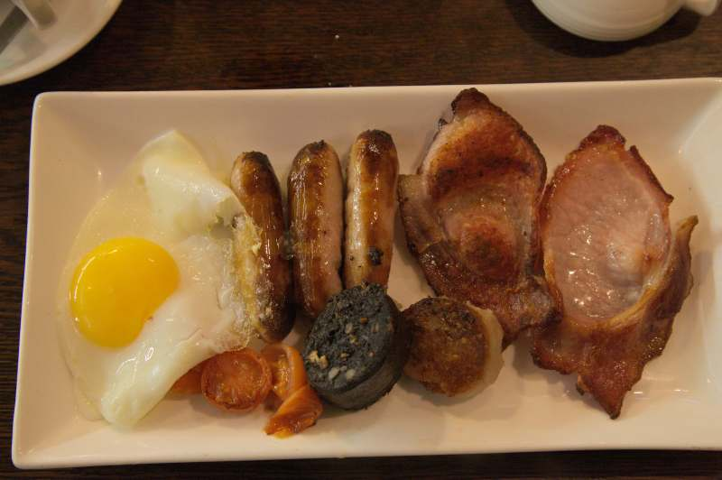 Irish breakfast - English Market