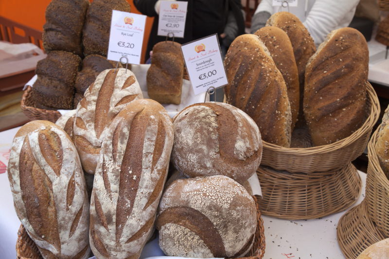 Nice selection of breads