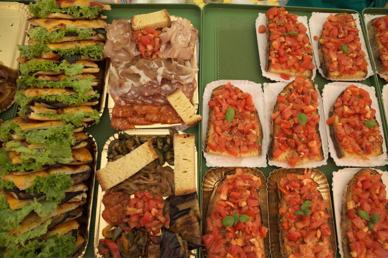 Traveling circus italian theme market bonn germany food some italian street food sciox Images