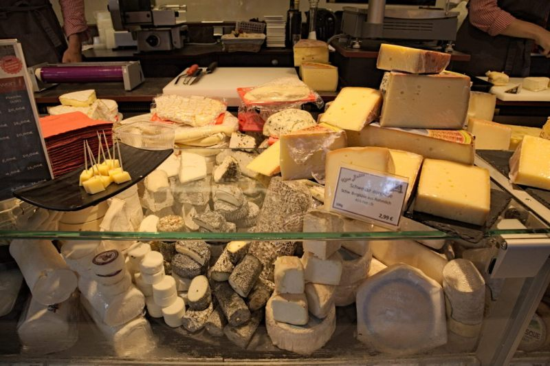 Great cheese selection