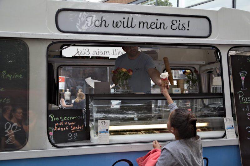 I want my ice cream