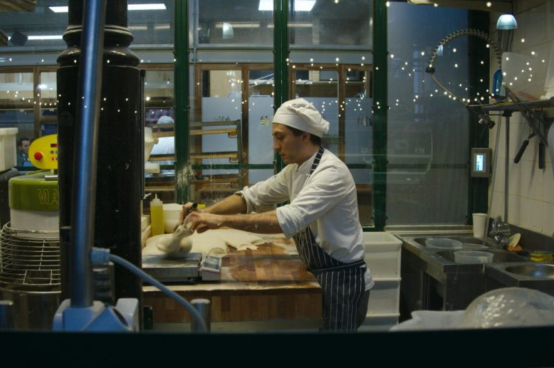 Transparent Italian bakery