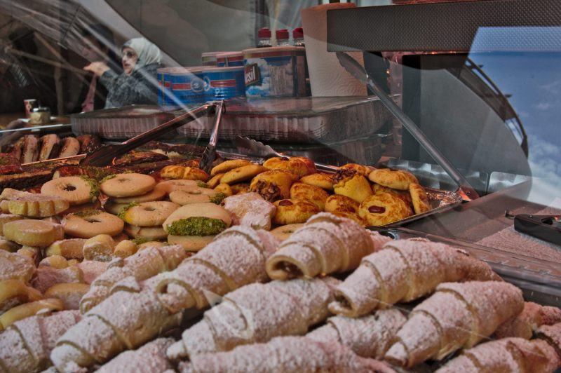 Turkish style pastry at Cologne Nippes Market