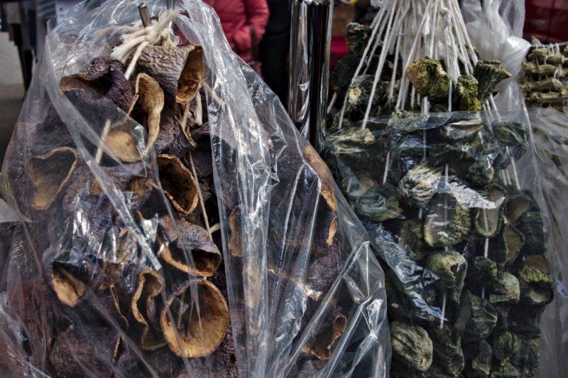 Dried eggplants