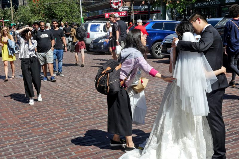 Wedding at Pike Place Market