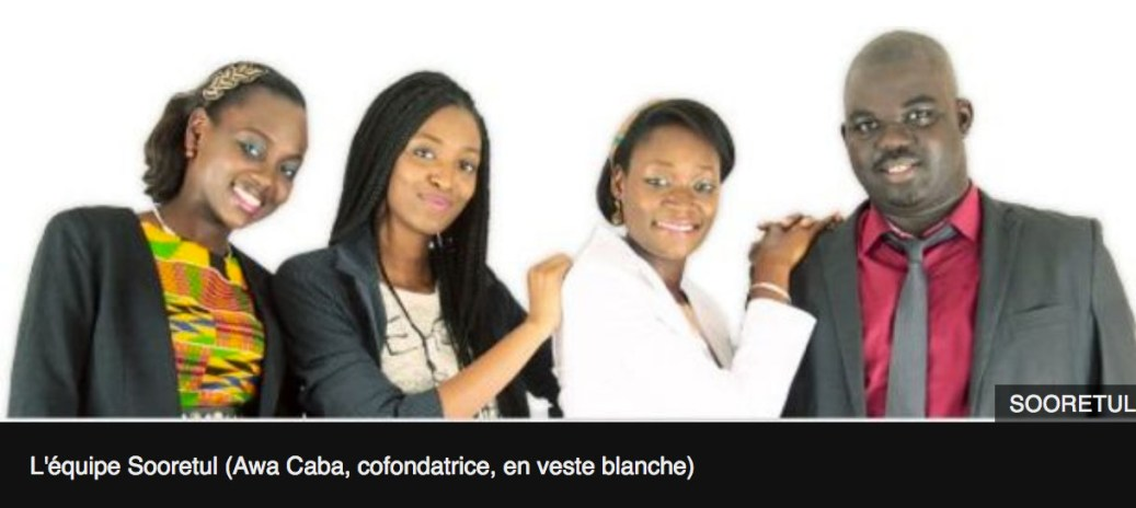 Startup Africaine sooretul