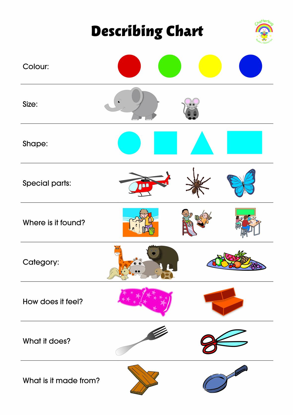 Describing Chart
