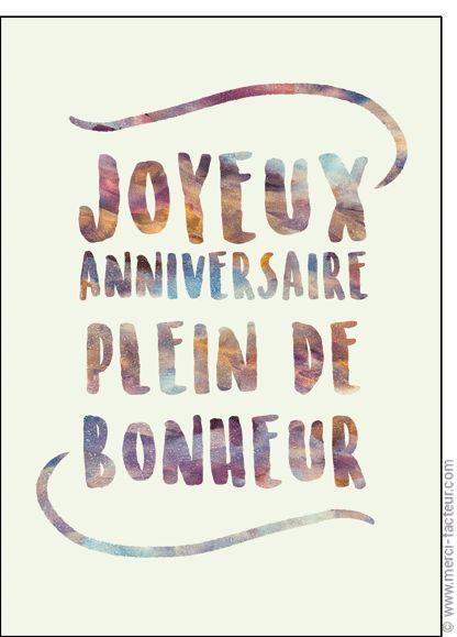 happy birthday wiches carte joyeux