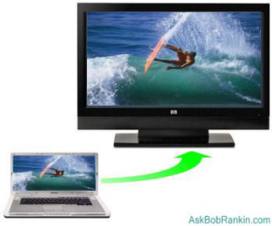 Wireless PC to TV