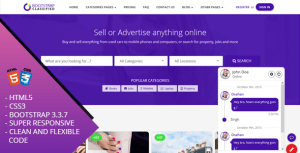 OBootstrap Classified Bootstrap Responsive Website Template