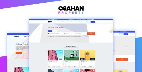 Osahan Property - Bootstrap 4 Light Real Estate Theme