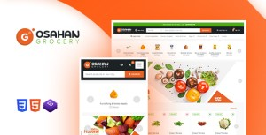 Osahan Grocery Website Template_ Bootstrap Template Online Store