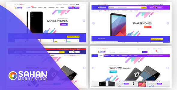 Osahan Mobile - Bootstrap 4 E-Commerce Template