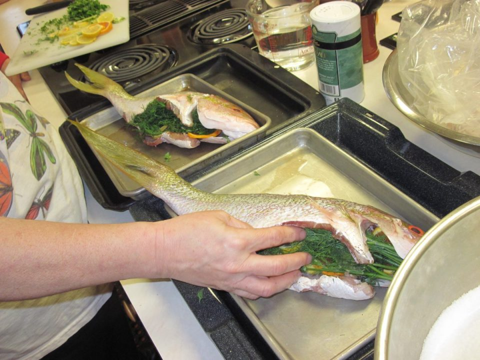Ask Chef Christy Stuffed Snapper