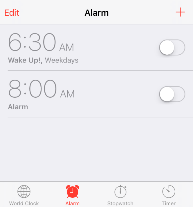 How To Set An Alarm On My New Iphone 7
