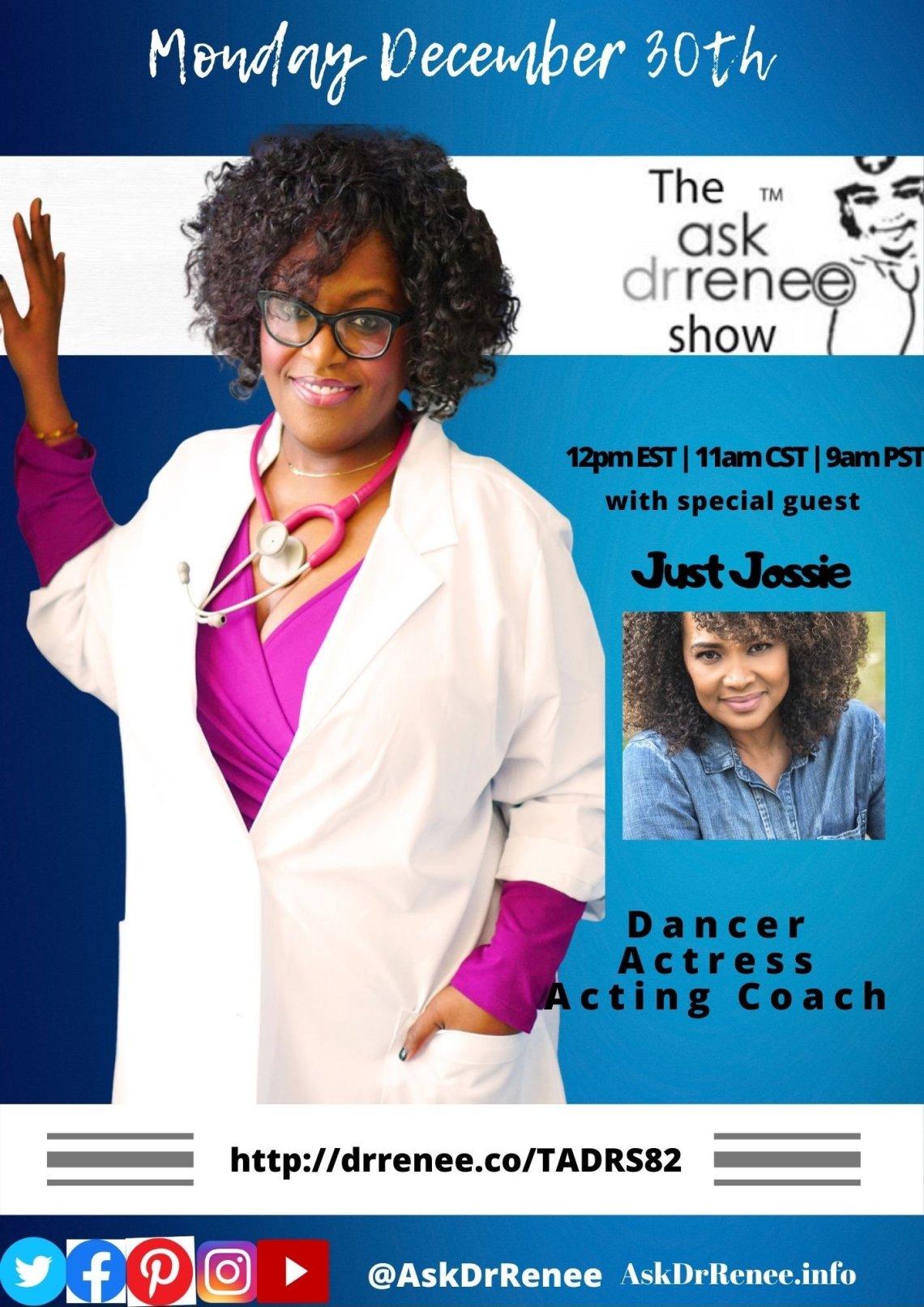 Ask Dr. Renee,Ask Dr. Renee Show,Talk Show Host,Oprah Winfrey,talk show,Jossie Harris,in living color,Fly girls,Dancer,Jossie Harris Thacker,music,dancer,hiphop,Jennifer Lopez,acting coaching class,talk show hosts laughing, Jossie Harris, Dancer, Actress, Acting Coach, Fly Girl, In Living Color, The Ask Dr. Renee Show, Dr. Renee, Dr. Renee Matthews, Ask Dr. Renee