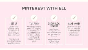 EllDuclos, Pinterest Course, Bloggers, Boss Girl Bloggers, Pins, Re-Pins, Tailwind