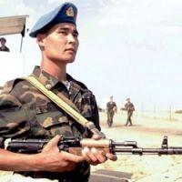 военно служащий армии Казахстана