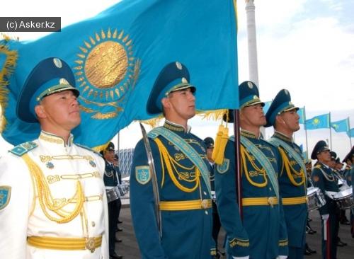 армия казахстана военнослужающие