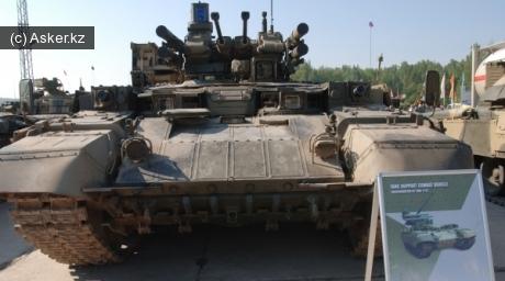 Бронированная машина поддержки танков (БМПТ)