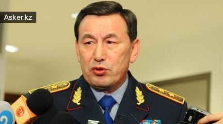 Министр внутренних дел РК Калмуханбет Касымов.