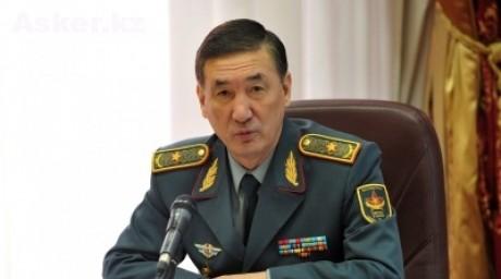 Генерал-майор Багдат Майкеев
