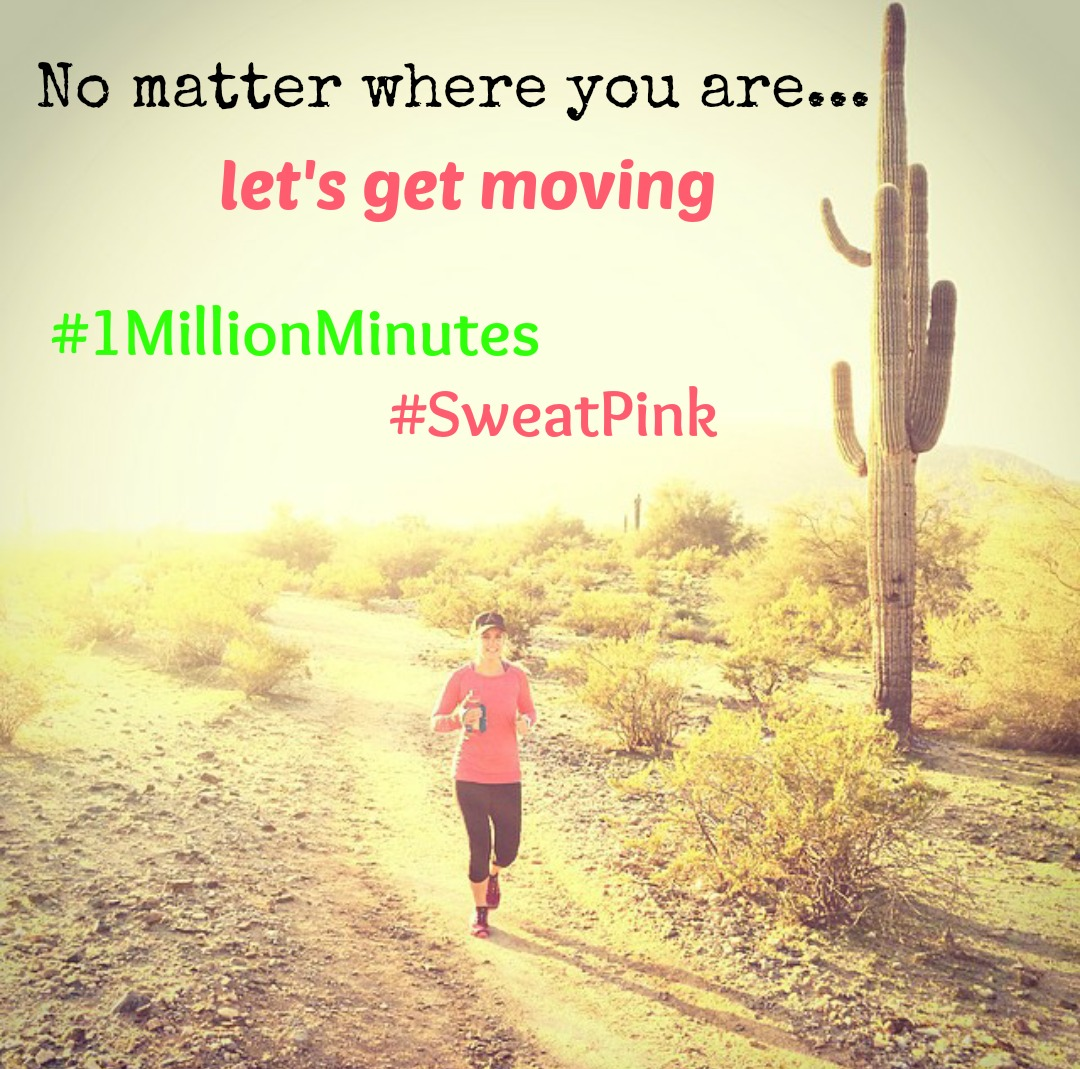 #1MillionMinutes? HECK YEAH!