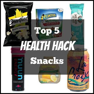 My Top 5 Health Hack Snacks