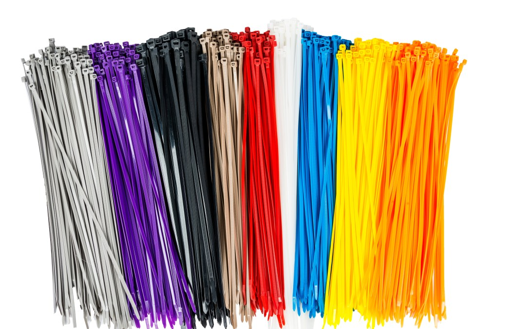 Assorted Colors of Forney Cable Ties