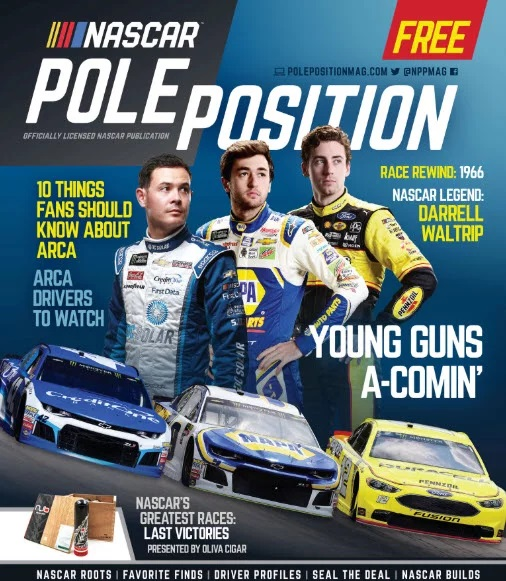 NASCAR POLE POSITION AUG/SEPT 2018