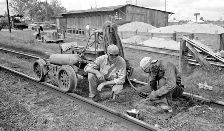 Early 1900s Welding