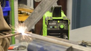 Forney Easy Weld 100 ST In Action