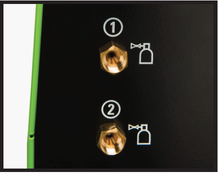 Verify your gas, switch position and output