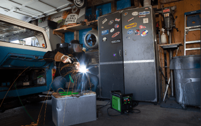 FORNEY 220 ST PRO WELDER QUICK START GUIDE