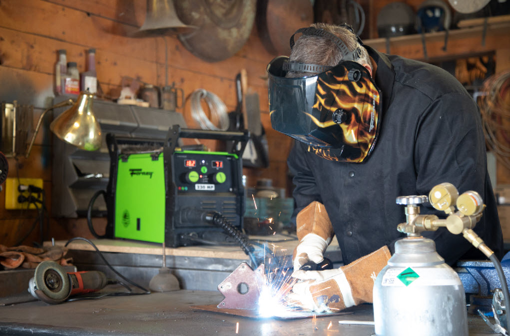FORNEY 220 MULTI-PROCESS WELDER QUICK START GUIDE
