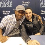 K.C. Collins and Paul Amos at FanExpo 2013