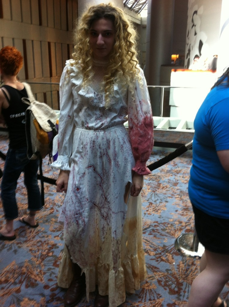 Helena cosplayer at Dragon Con 2014