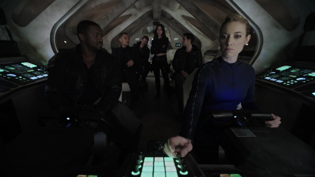 Crew on the Maurader in Episode One