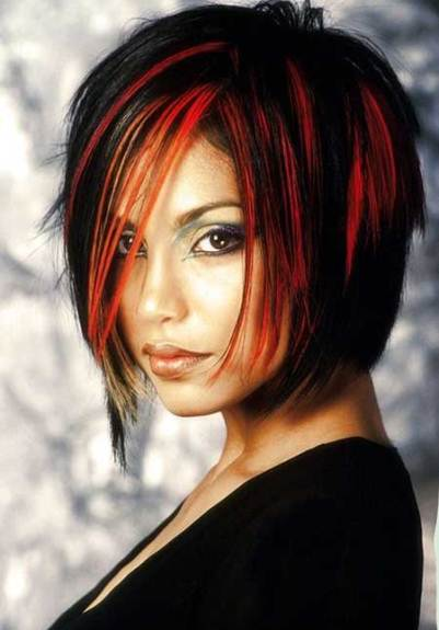 Black hair red highlights the best black hair 2017 the 25 best black hair red highlights ideas on inside pmusecretfo Image collections